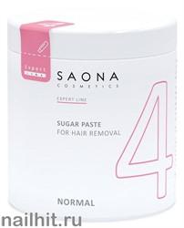 0404 Saona Cosmetics Сахарная паста №4  Нормальная 1000гр NORMAL