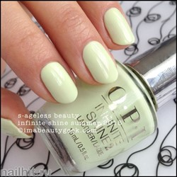L39 OPI Лак для ногтей Infinite Shine S-ageless Beauty 15мл