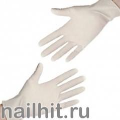 Перчатки Латексные НЕ опудренные 100шт (Размер М)