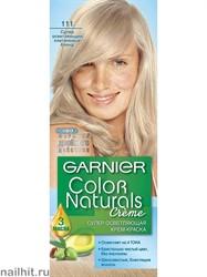 Garnier Краска для волос Колор Нэчралс 111 Супер осветляющий платиновый блонд