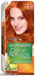 Garnier Краска для волос Колор Нэчралс 7.40 Золотисто-медный (Пленительный медный)