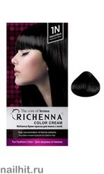 RICHENNA № 1N Крем-краска для волос с хной Натуральный черный