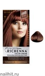 RICHENNA № 6MB Крем-краска для волос с хной Красное дерево