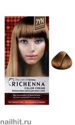 RICHENNA № 7YN Крем-краска для волос с хной Темно-золотистый блонд