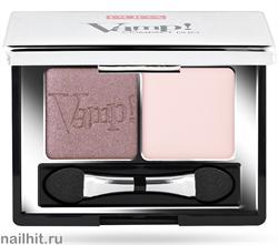 0087003 Pupa ТЕНИ для век двойные компактные VAMP! тон 03 Розово-коричневый перлам + светло-розовый матовый