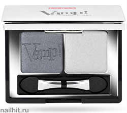 0087 009 Pupa ТЕНИ для век двойные компактные VAMP! тон 09 Серый мерцающий + металлик