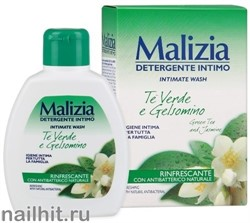 021581 Malizia Гель для интимной гигиены GREEN TEA&JASMINE 200мл 184051