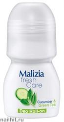 776642 Malizia Дезодорант-ролик Cucumber&Green tea 50мл 175911