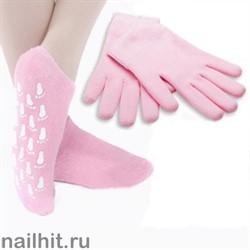 JessNail НАБОР Увлажняющие гелевые перчатки и гелевые носочки