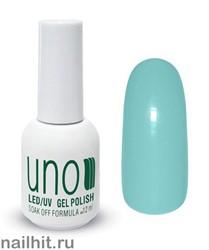 L10 Гель-лак UNO Limited Edition 12ml (Пастельный, нежно-голубой, без перламутра)