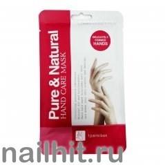 58623 Маска-перчатки для рук Natural and Pure Hand Care Mask 1 пара