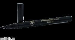 00801 Triumf Подводка-фломастер для глаз Deep Charming Liquid Eyeliner Черная