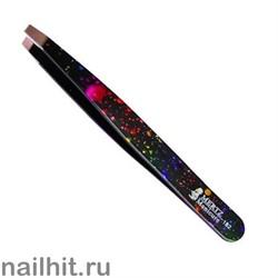 4020 Mertz Пинцет 182-чёрный салют 9см