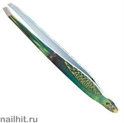 6711 Solinberg Пинцет «Скошенный» 251-010BD попугай