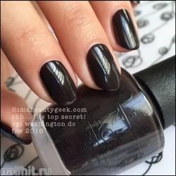 W61 Opi Лак для ногтей Shh… It's Top Secret 15мл Осень 2016