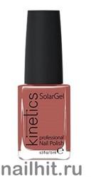046 Kinetics SolarGel Cinnamon Girl Лак гелевый для ногтей 15мл (Стойкий, БЕЗ уф-лампы)