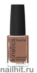 047 Kinetics SolarGel Smoky Desert Лак гелевый для ногтей 15мл (Стойкий, БЕЗ уф-лампы)