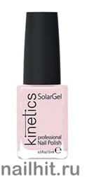 059 Kinetics SolarGel Rose Petal Лак гелевый для ногтей 15мл (Стойкий, БЕЗ уф-лампы)