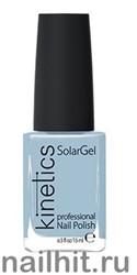 109 Kinetics SolarGel Misty Лак гелевый для ногтей 15мл (Стойкий, БЕЗ уф-лампы)