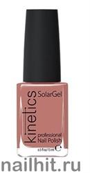 160 Kinetics SolarGel Demure Лак гелевый для ногтей 15мл (Стойкий, БЕЗ уф-лампы)