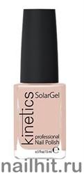 168 Kinetics SolarGel Pale Petunia Лак гелевый для ногтей 15мл (Стойкий, БЕЗ уф-лампы)