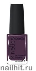 175 Kinetics SolarGel Blackout Лак гелевый для ногтей 15мл (Стойкий, БЕЗ уф-лампы)