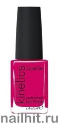 179 Kinetics SolarGel Couture Cherry Лак гелевый для ногтей 15мл (Стойкий, БЕЗ уф-лампы)