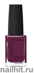 210 Kinetics SolarGel Mulberry Лак гелевый для ногтей 15мл (Стойкий, БЕЗ уф-лампы)