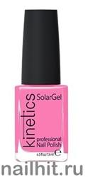 220 Kinetics SolarGel Pink Silence Лак гелевый для ногтей 15мл (Стойкий, БЕЗ уф-лампы)