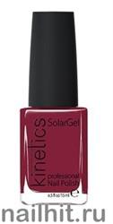 224 Kinetics SolarGel Signature Wine Лак гелевый для ногтей 15мл (Стойкий, БЕЗ уф-лампы)