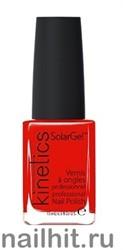 331 Kinetics SolarGel King of Red Лак гелевый для ногтей 15мл (Стойкий, БЕЗ уф-лампы)