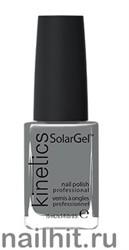 345 Kinetics SolarGel Iceland Grey Лак гелевый для ногтей 15мл (Стойкий, БЕЗ уф-лампы)