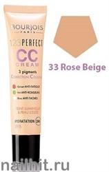 "Bourjois 385033 Крем Корректор для лица ""CC CREAM"" тон 33 beige rose"