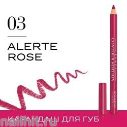 "Bourjois 330031 Карандаш для ГУБ ""Levres Contour "" тон 03 alerte rose"