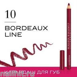 "Bourjois 330101 Карандаш для ГУБ ""Levres Contour "" тон 10 bordeaux line"