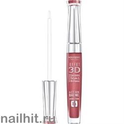 Bourjois 344030 Блеск для губ Effet 3D, тон 03 brun rose academic