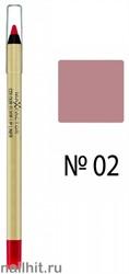 Max Factor Карандаш для губ Colour Elixir, тон №02 (Pink Petal)