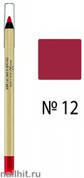 Max Factor Карандаш для губ Colour Elixir, тон №12 (Red Blush)