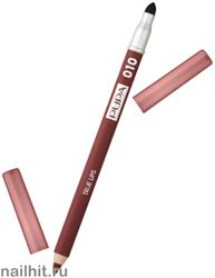 "0256 10 Pupa Карандаш для губ ""TRUE LIPS"" тон 10 BURNT SIENNA"