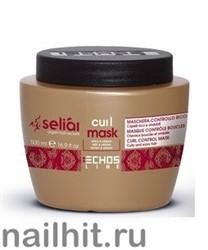 20483 ECHOS  Line CURL Маска  для вьющихся волос 500мл С медом и маслом Аргании