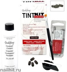 16970 Godefroy 500506 PRO KIT Dark НАБОР Краска-Хна 80 капсул для бровей Графит