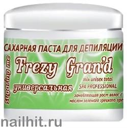 13657 Frezy Grand 11143 Паста сахарная для депиляции 750гр СРЕДНЯЯ- УНИВЕРСАЛЬНАЯ