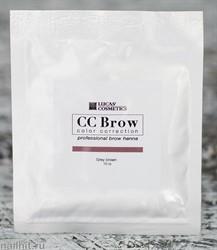 759177 CC Brow Хна для бровей в саше Grey brown 10гр СЕРО-КОРИЧНЕВАЯ