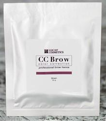 759160 CC Brow Хна для бровей в саше Brown 10гр КОРИЧНЕВАЯ