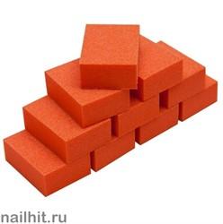 20300 Planet Nails Баф МИНИ зауженный 100/120 оранжевый 10 шт/уп