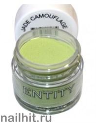 Entity Акриловая пудра для ногтей 7гр JADE CAMOUFLAGE (Светло-зеленая)