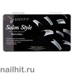 Типсы Entity Salon Style Natural 200шт (Натуральные)