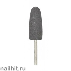 Шлифовщик силикон-карбидный пулевидный большой серый 10х24мм (средний абр.)