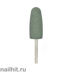 Шлифовщик силикон-карбидный пулевидный большой зеленый 10х24мм (средний абр.)