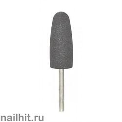 Шлифовщик силикон-карбидный пулевидный большой светло-серый 10х24мм (мелкий абр.)